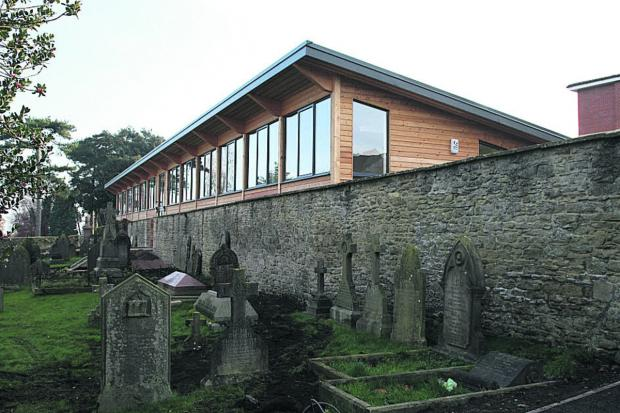 The new church community centre