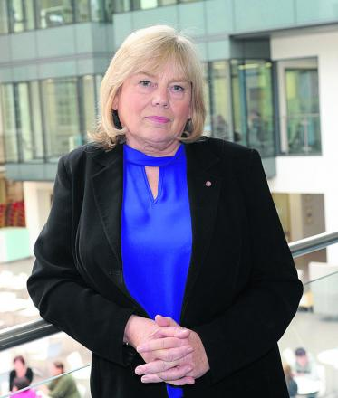 Wiltshire Council leader Jane Scott