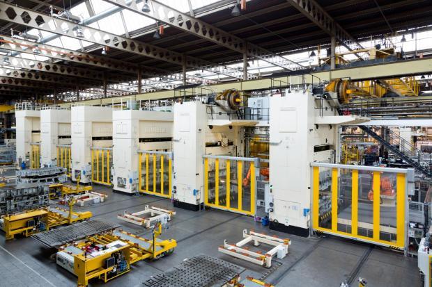 Swindon Advertiser: The Swindon pressing plant