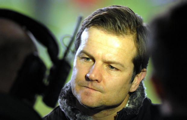 Swindon Advertiser: Town boss Mark Cooper