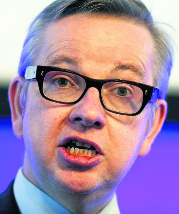 Secretary of State for Education, Michael Gove