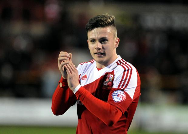 Swindon Advertiser: Miles Storey is understood to be interesting three Football League clubs but Swindon Town manager Mark Cooper still has the striker in his plans for next season