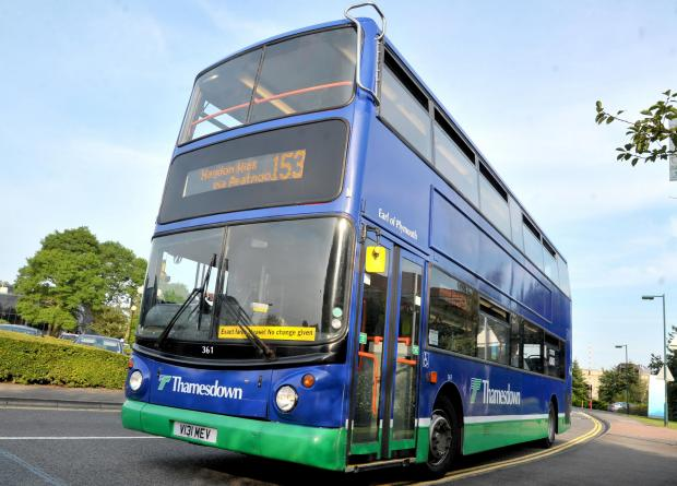 Thamesdown Transport buses are due to be affected by closures in Cheney Manor Road and Newport Street from Monday