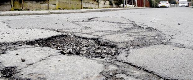 Cash provided for emergency pothole work