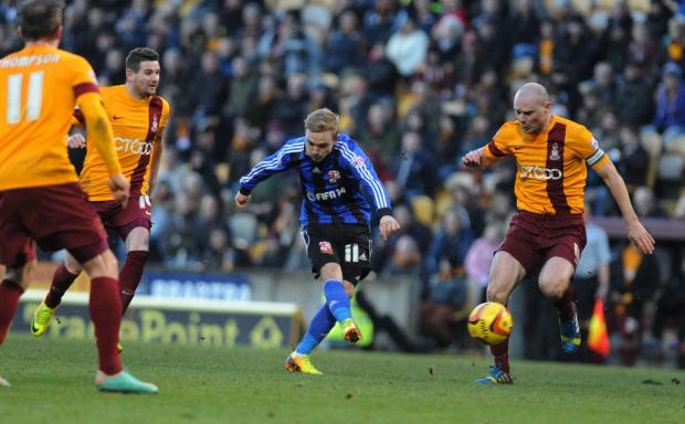 Swindon Advertiser: Town midfielder Alex Pritchard