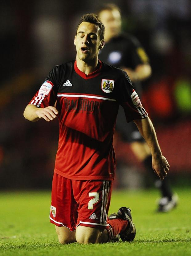 Swindon Advertiser: Sam Baldock could be a decent bet to net this weekend: Action Images