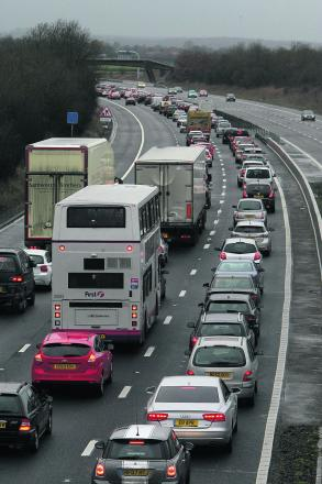 Motorists have fallen victim to a fraudster operating between junctions 19 and 15 of the M4