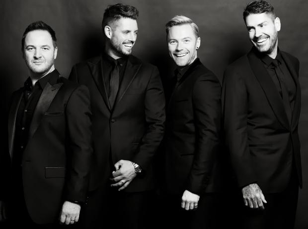 Boyzone heading for the west