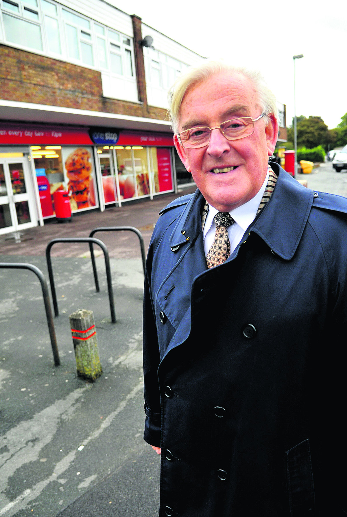 Former Swindon Council leader Coun Mike Bawden, who is battling leukaemia. He has had support from Tory group colleagues