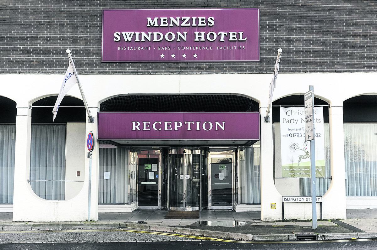 Squatters check in at bankrupt Swindon hotel