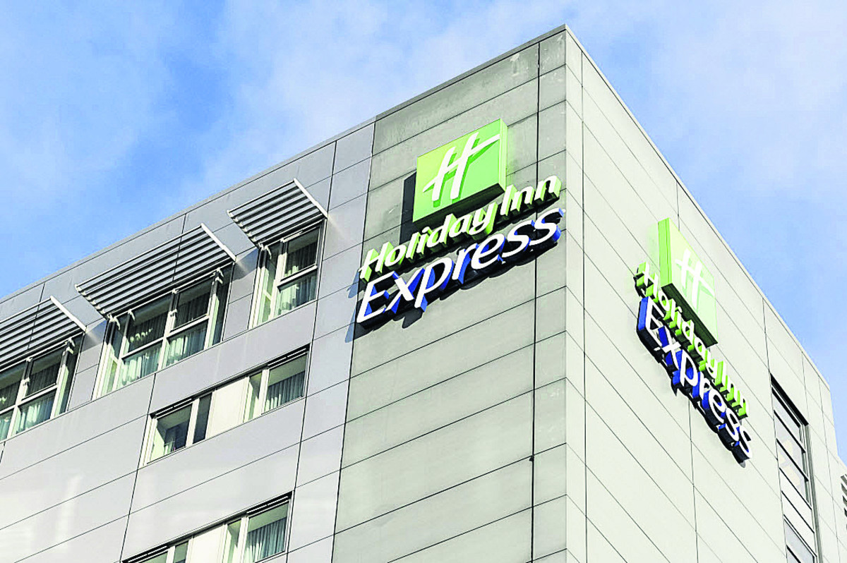 The Holiday Inn Express in Swindon town centre
