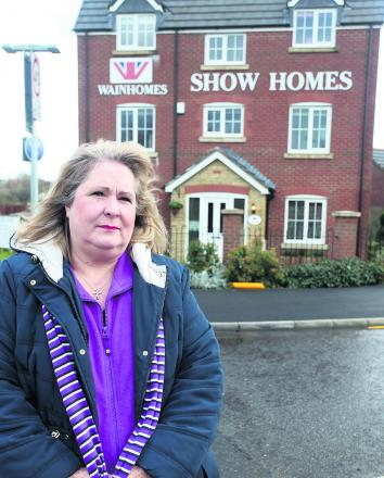 Coun Jacqui Lay, who is concerned about plans to build 50 more houses on an important ecological area in Purton