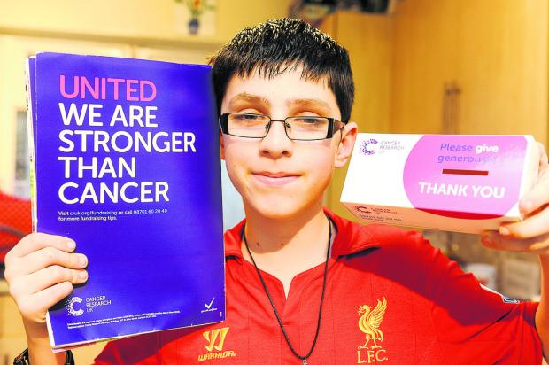 Josh Richter Is hoping to raise money for Prospect, Great Ormund Street, Sport Relief and Cancer UK by doing a run and asking STFC to put on a charity football match
