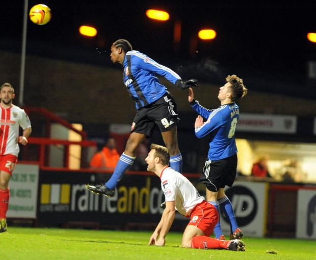 Swindon Advertiser: Nile Ranger missed training with Swindon Town on Thursday due to illness