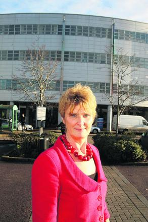 Great Western Hospital Chief Nurse Hilary Walker