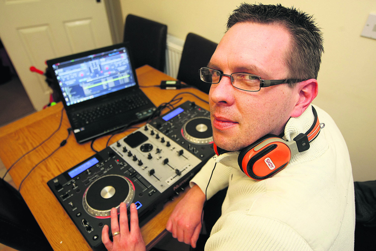 DJ Robert Kane from Swindon is going to attempt a 24-hour mixing session to raise m
