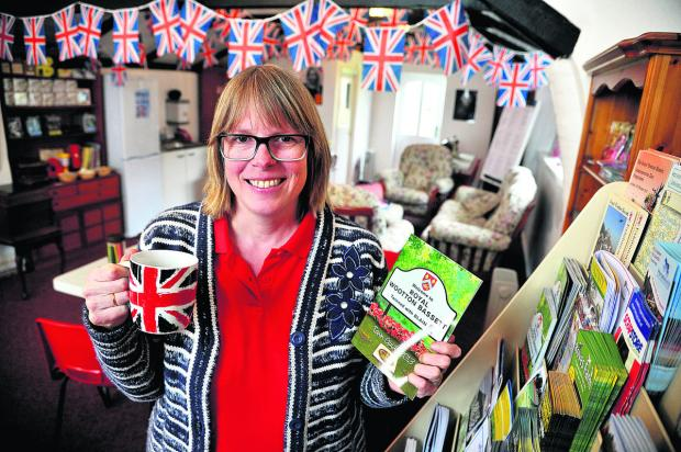 Swindon Advertiser: Owner Sheridan Parsons in Wootton Hall, Royal Wootton Bassett, which is now on the market after her visitor centre failed to attract customers