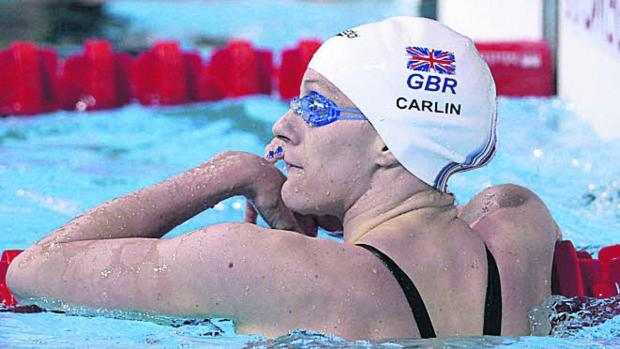 SWIMMING: European gold for Carlin