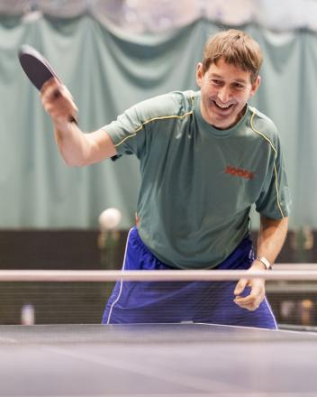 New Sanford Link table tennis coach Graham Slack