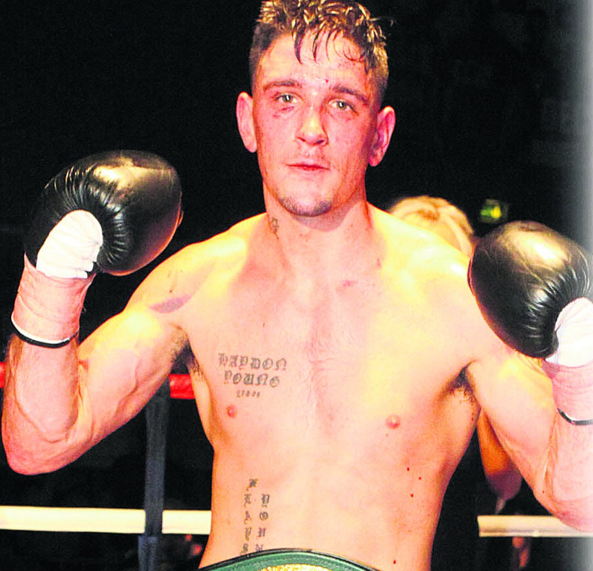 Kelvin Young beat Tomas Kugler 80-72 on points at the Oasis last night