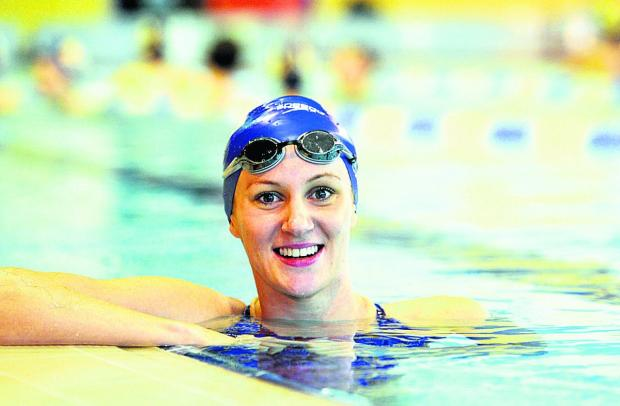 Swindon swimmer Jazz Carlin