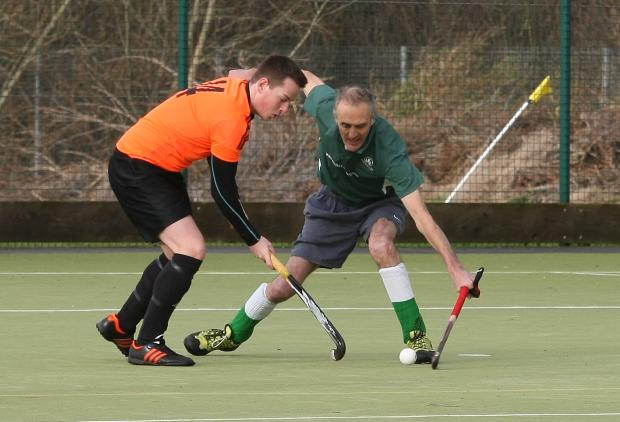 Action from the weekend's clash between Swindon A and Marlborough A