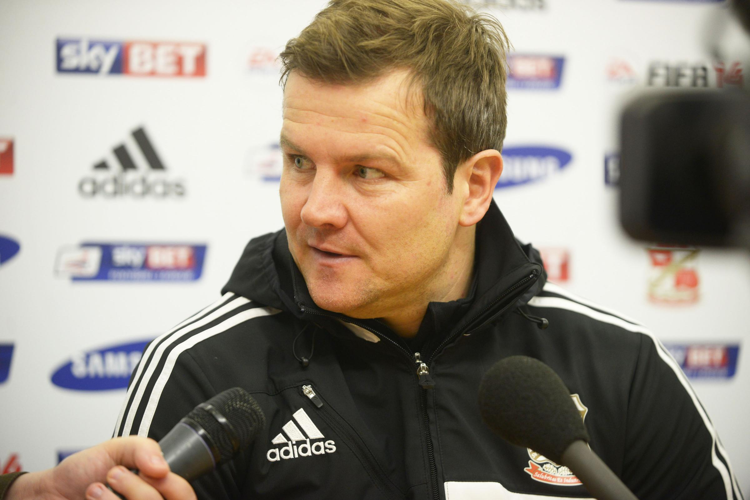 Mark Cooper pictured yesterday