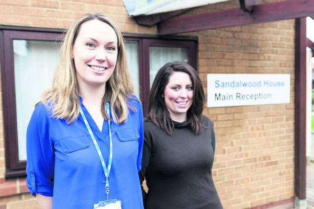 Sarah Mills, left, and Sarah Power, who have launched a support group for relatives of veterans at Sandalwood house