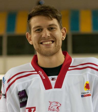 Swindon Wildcats star Sam Bullas