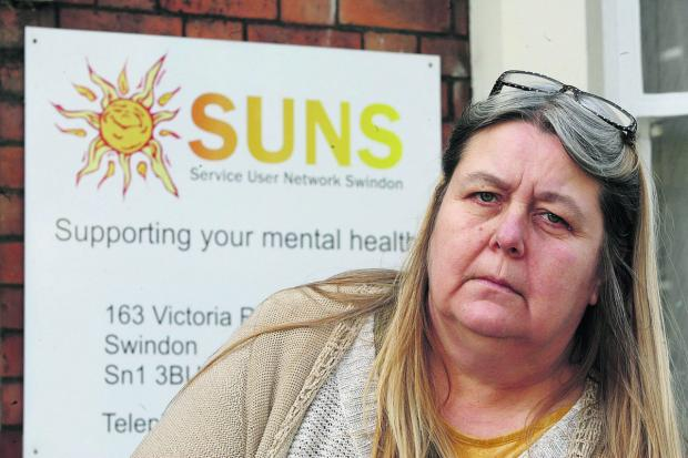 SUNS chairperson Ann Mooney says mental health sufferers are feeling let down