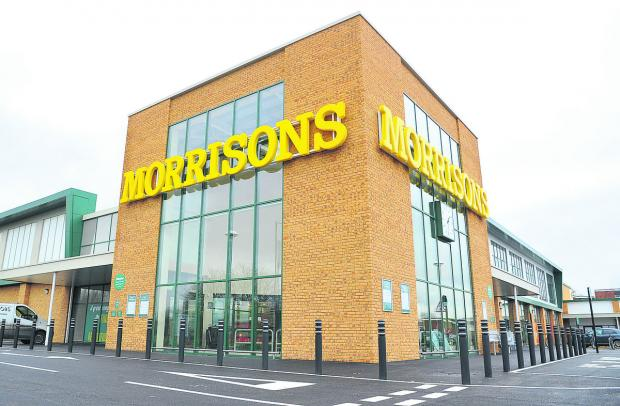 The new Morrisons, in Eldene, which is opening next Monday