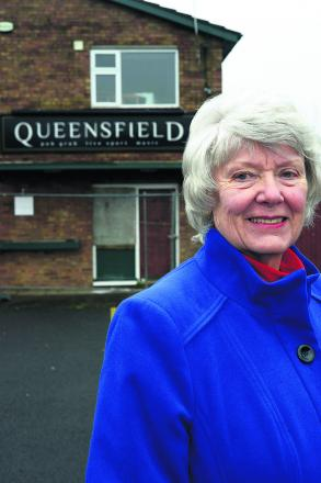 Brenda Archer wants to know what residents want to see at the site of the Queensfield Pub, Upper Stratton