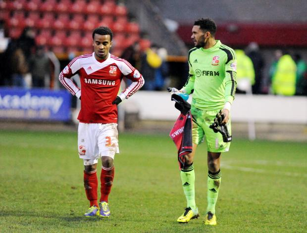 SWINDON TOWN 0 OLDHAM ATHLETIC 1: 'Lobotomised' Town slump to home defeat.
