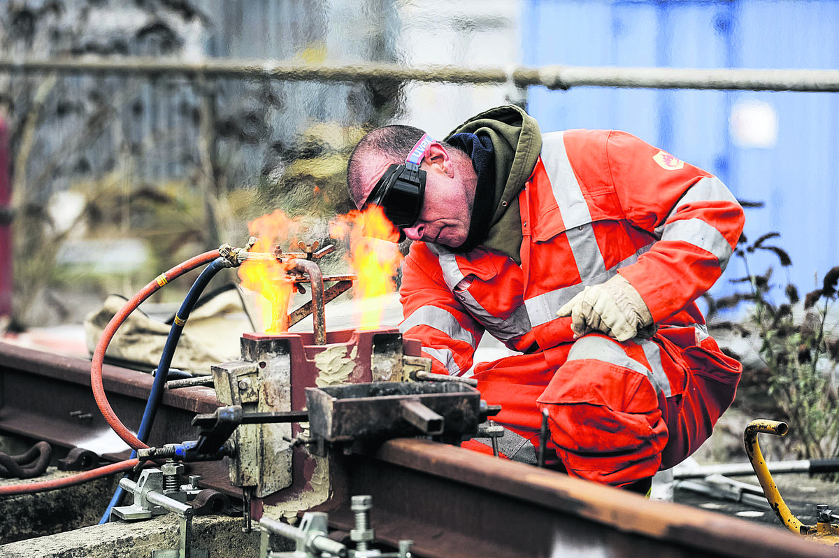 Apprenticeship open day at Network Rail