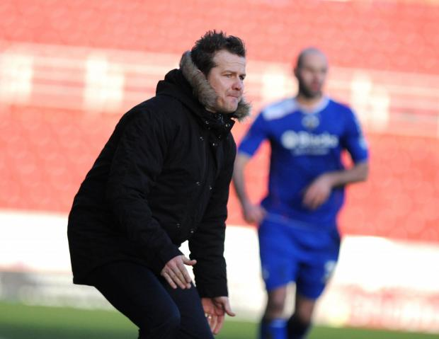 Cooper has asked for Town fan's patience