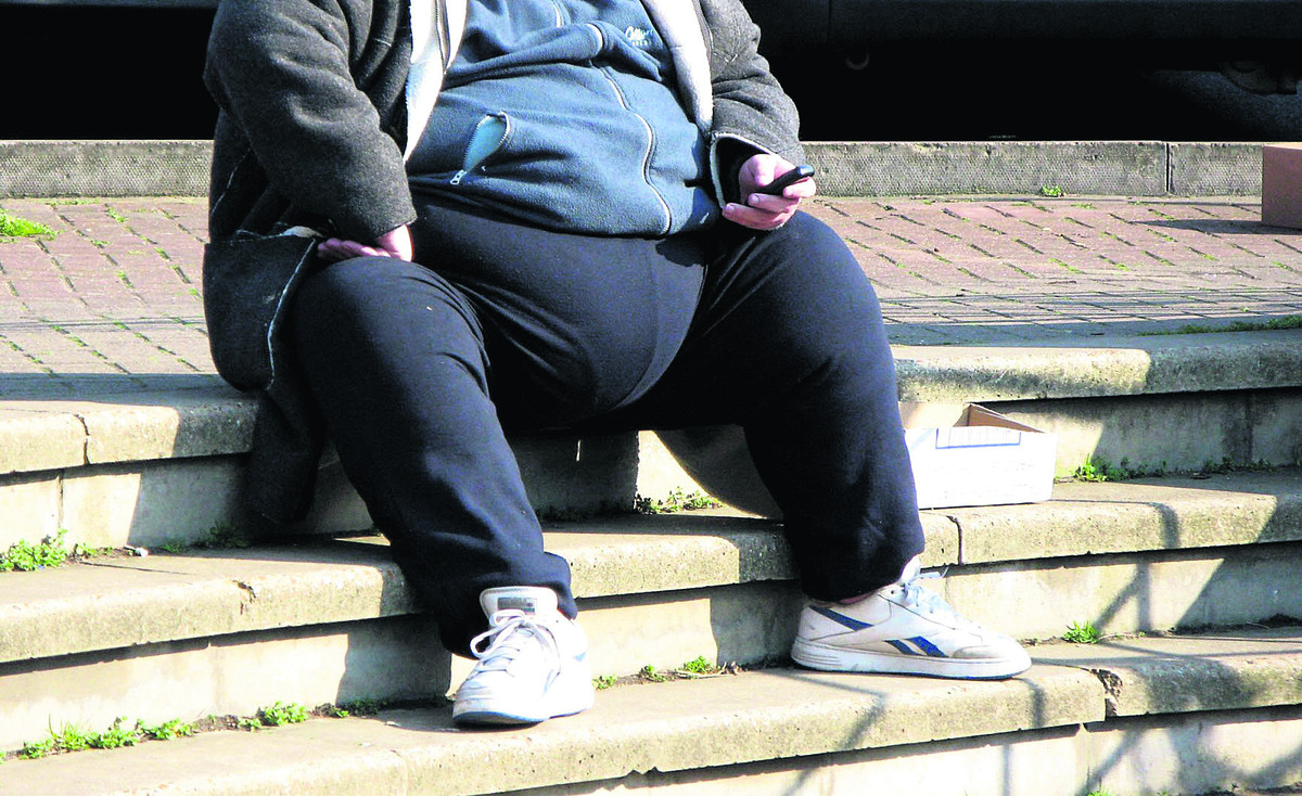 Swindon has more obese people than anywhere else in Wiltshire, Avon and Gloucester