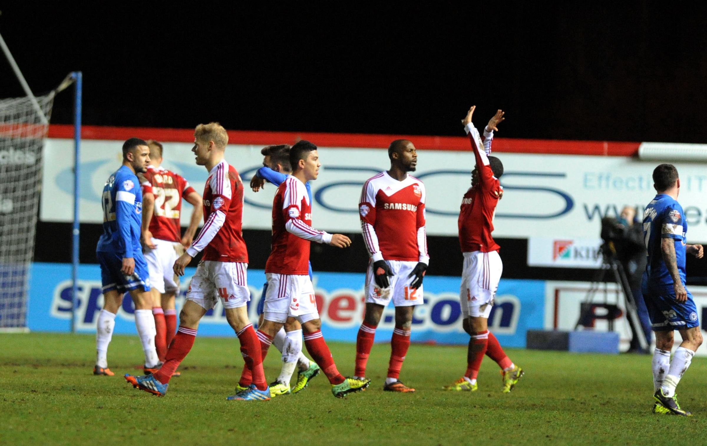 PETERBOROUGH 2 SWINDON TOWN 2: Robins grab crucial draw in JPT clash