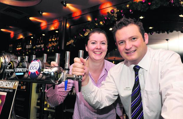 Swindon Advertiser: The Dockle Farmhouse's managers Nicole Calver and Paul Pearson