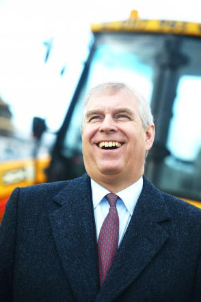 The Duke of York, a recent visitor to Swindon, born on this day in 1960