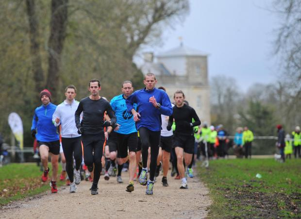 Action from the recent Swindon Parkrun