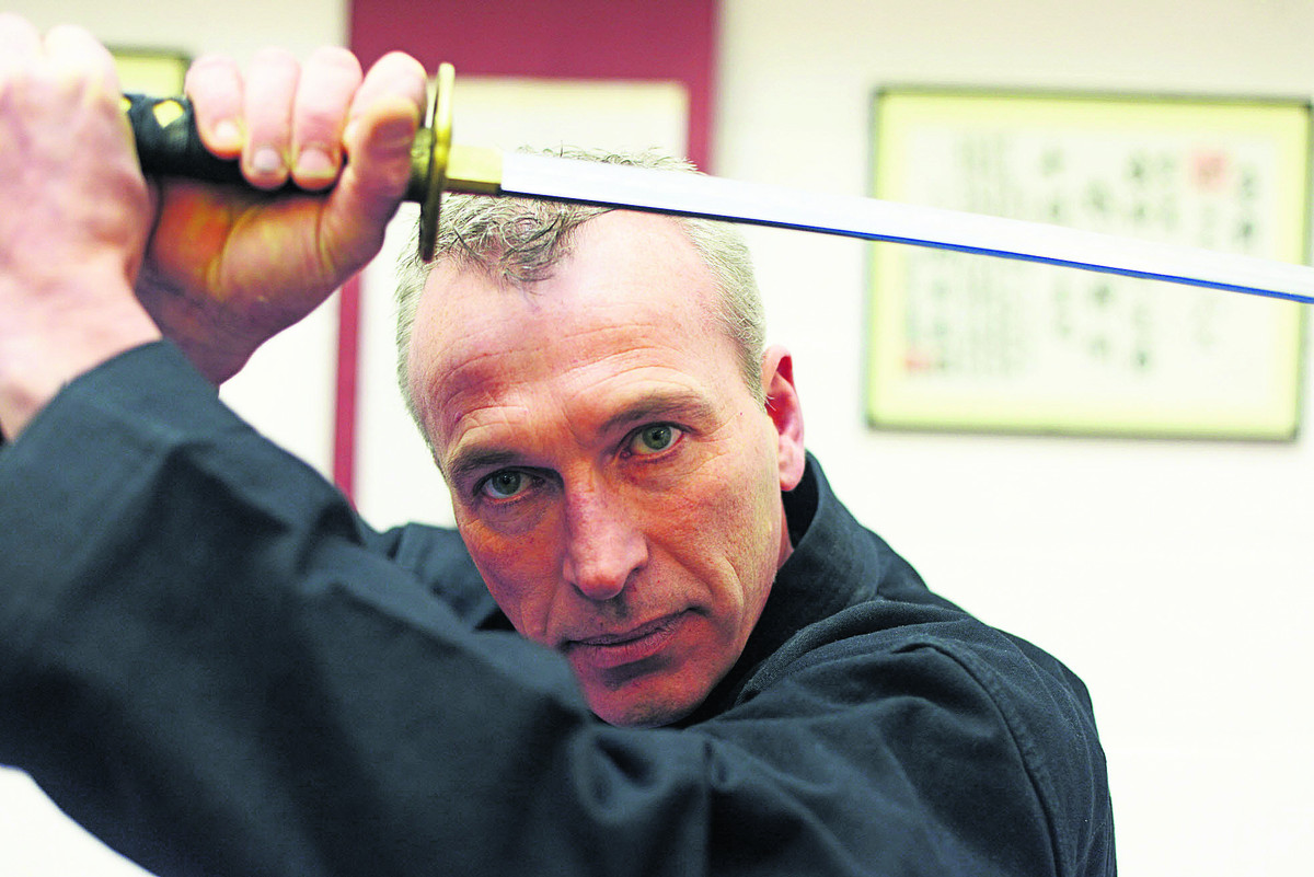 Paul Stubbs has mastered the arts of self-defence