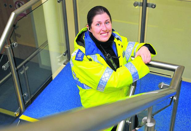 PCSO Emma Turner gets behind Wiltshire Police's campaign to recruit more PSCOs