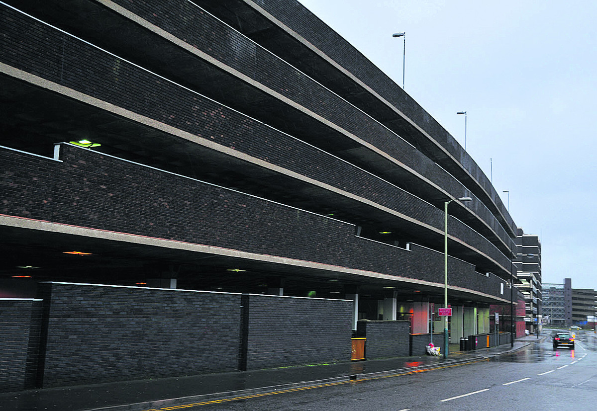 The Wyvern Theatre car park
