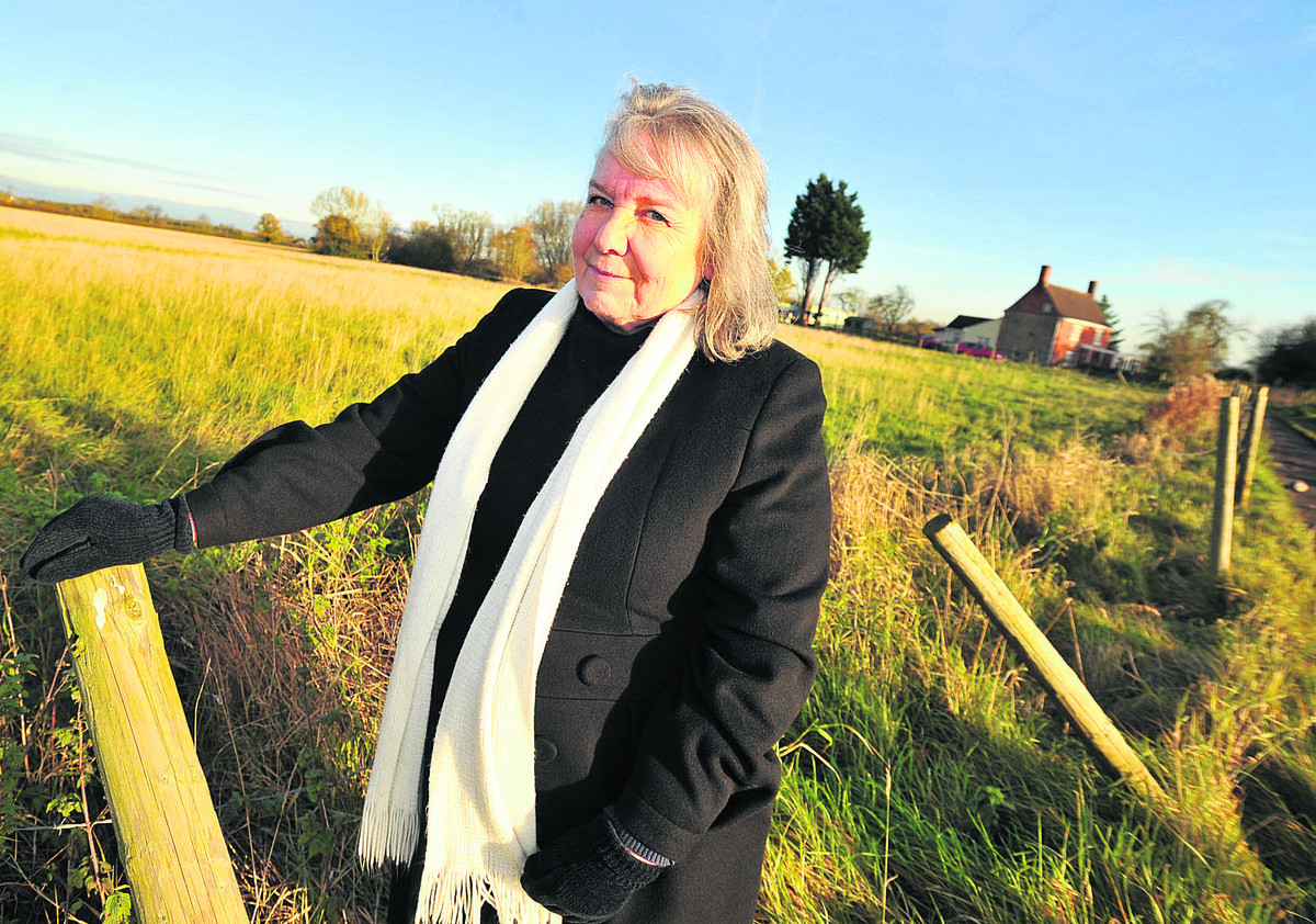 Sylvia Brown, vice chairman of South Marston Parish Council