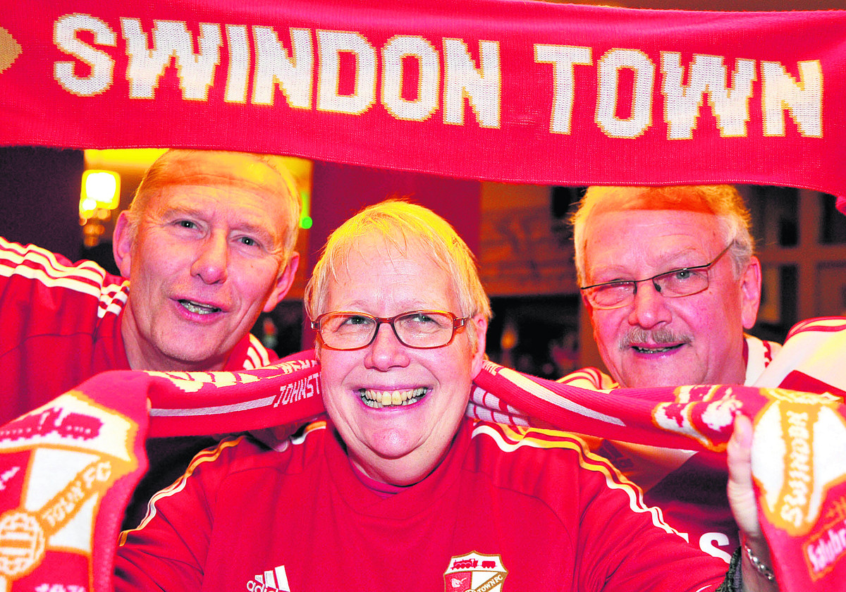 Town fans get in spirit as club gets closer to Wembley
