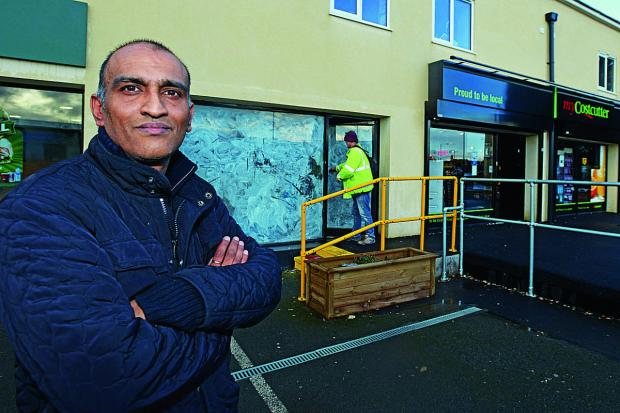Swindon Advertiser: Survjit Bains is set to open a fish and chip shop in Stratton despite objections from other local takeaways