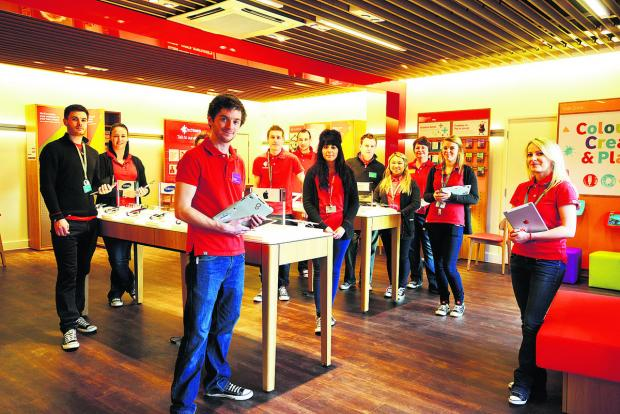 Vodafone has opened a new store in Swindon which is one of the biggest in the country