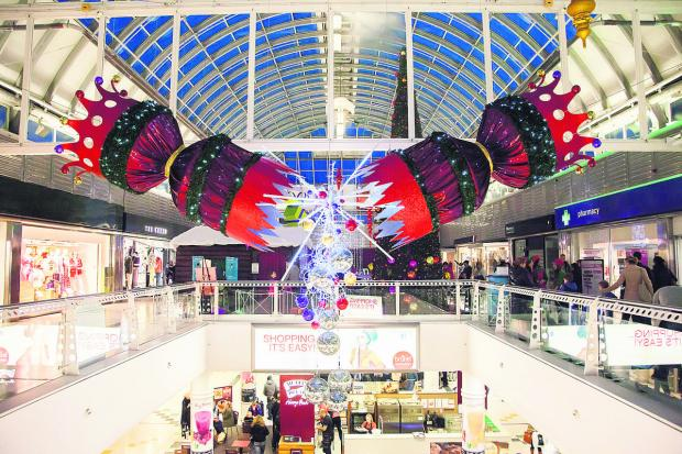 Swindon Advertiser: The Brunel Centre has been boosted by a successful Christmas