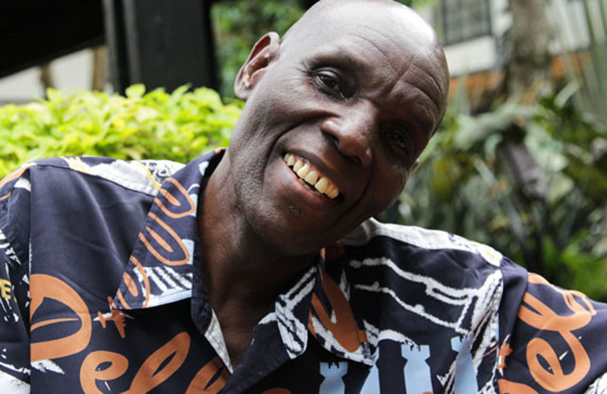 Oliver Mtukudzi who will be playing shimmering Zimbabwean guitars