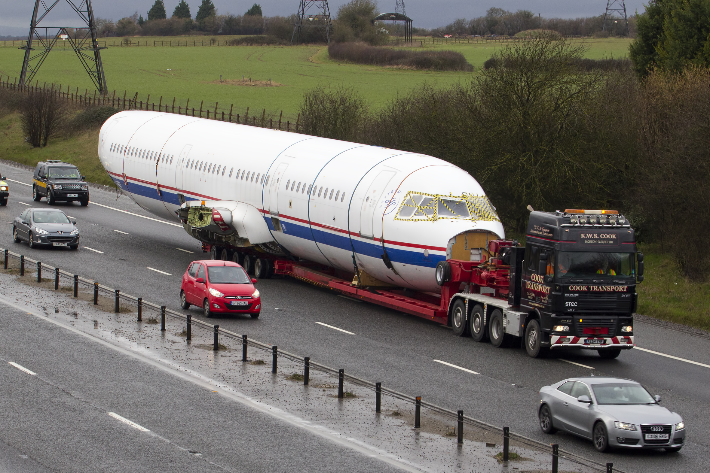 Wiltshire Police To Escort Airbus Aircraft Fuselage On M4 And A419 Swindon Advertiser